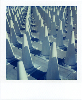Polaroid Naoshima 2_Cones.jpg