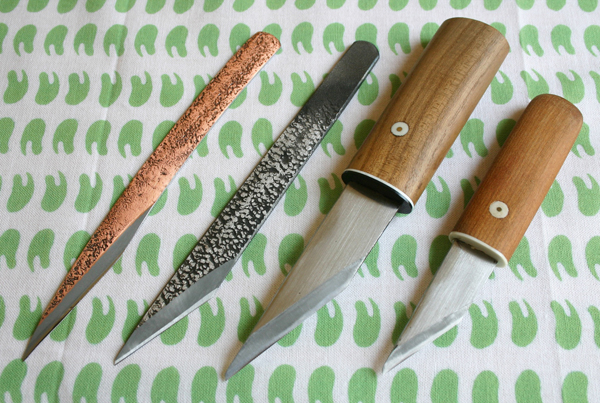Left Handed Japanese Carving Knives