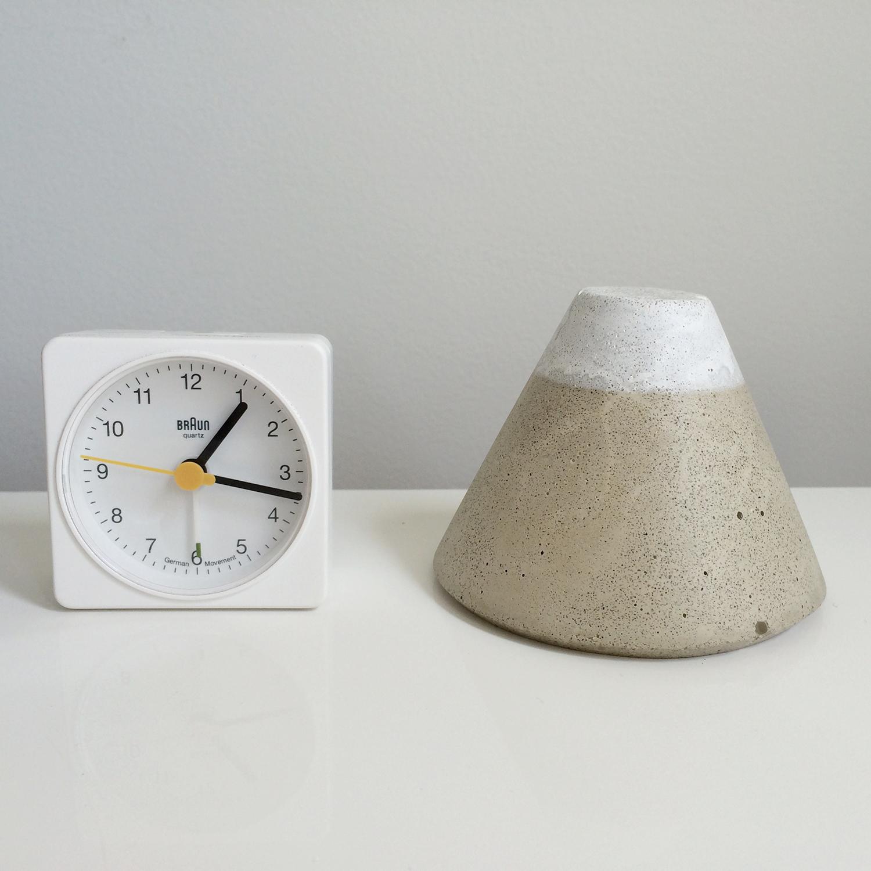 Fuji and Braun Clock
