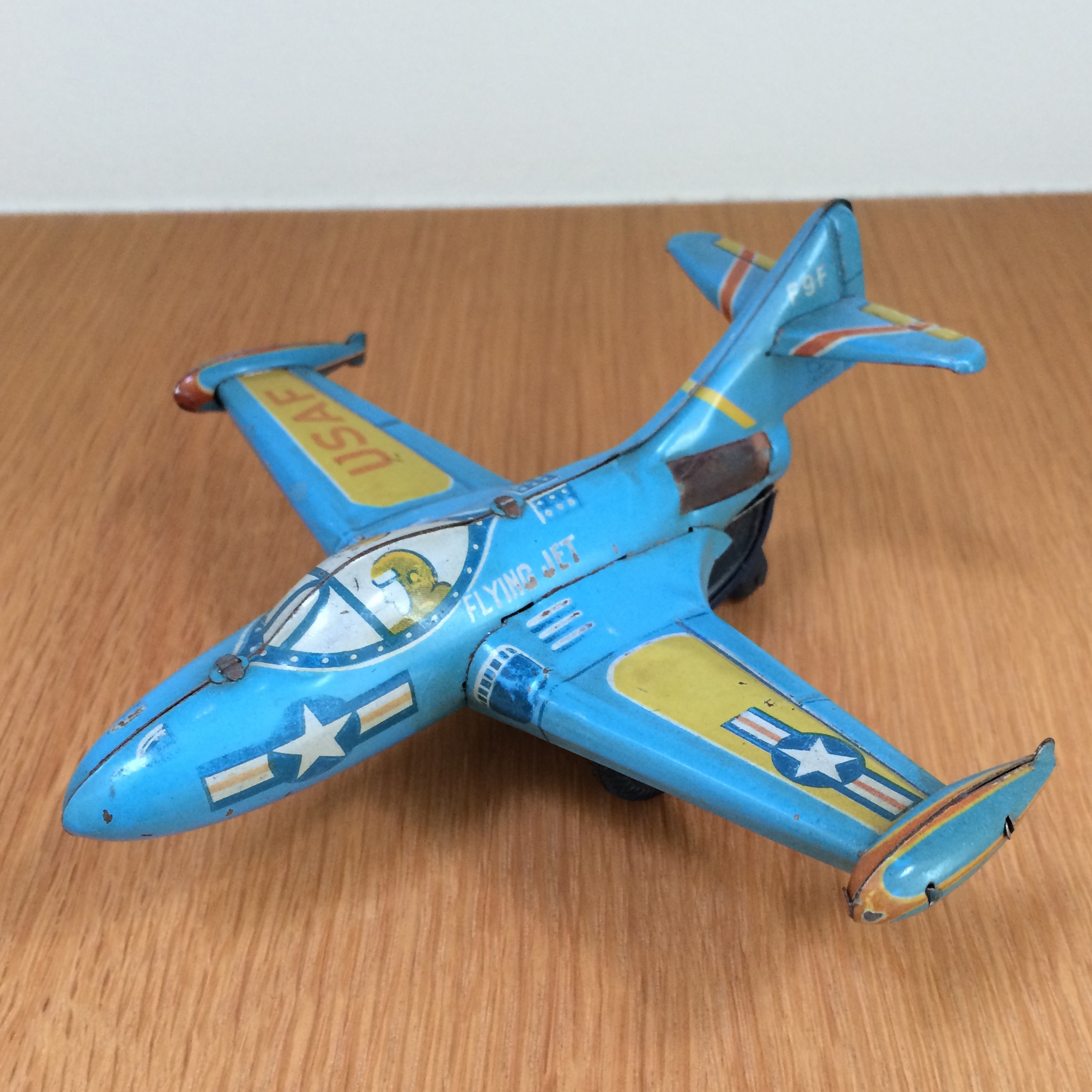 F9F Sparking Jet - 1950-60? Marx Toys - Made in Japan
