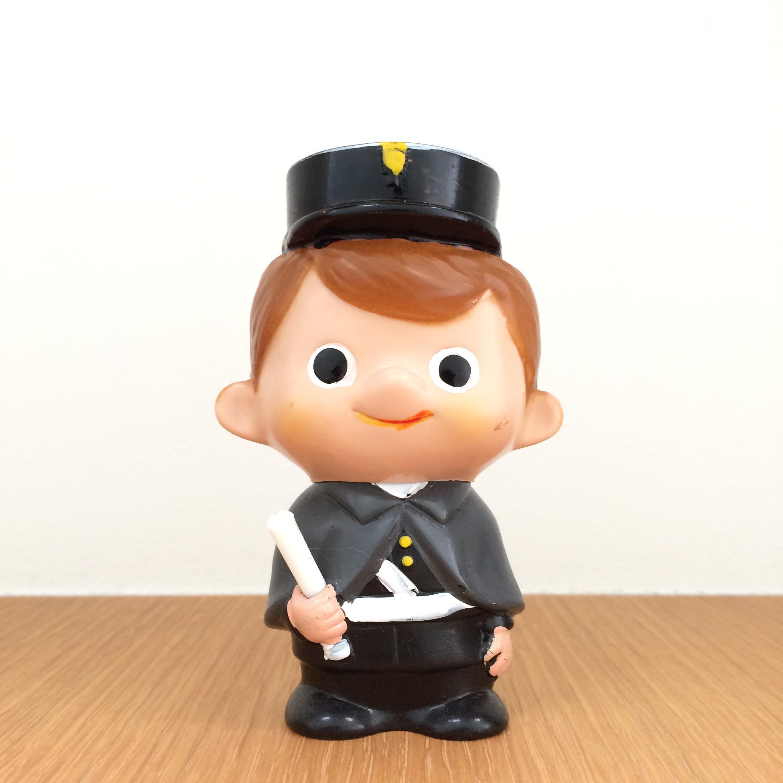 Boku-chan -Police (Fuji Bank)   富士銀行のぼくちゃん
