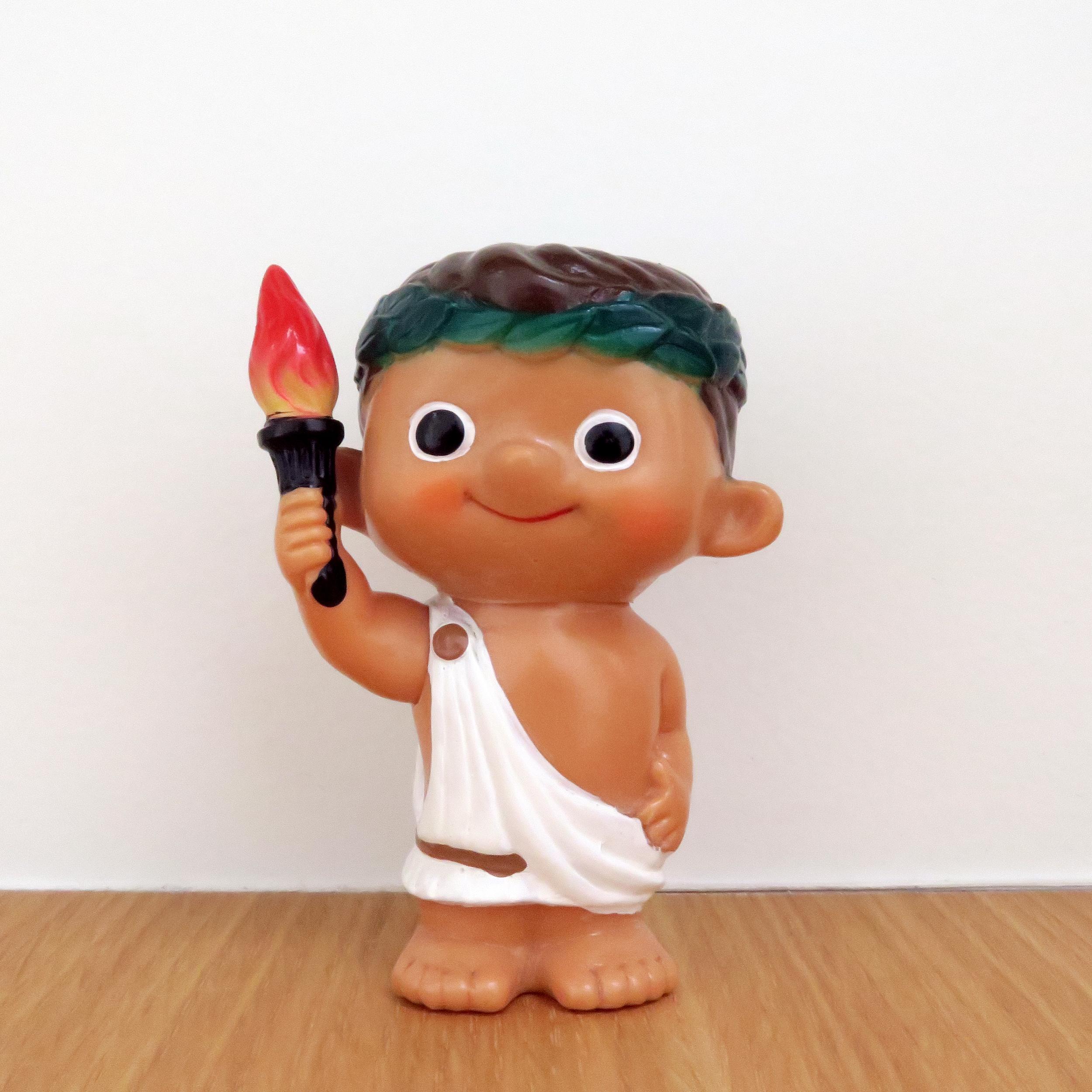 Boku-chan -Greece Olympian (Fuji Bank)     富士銀行のぼくちゃん
