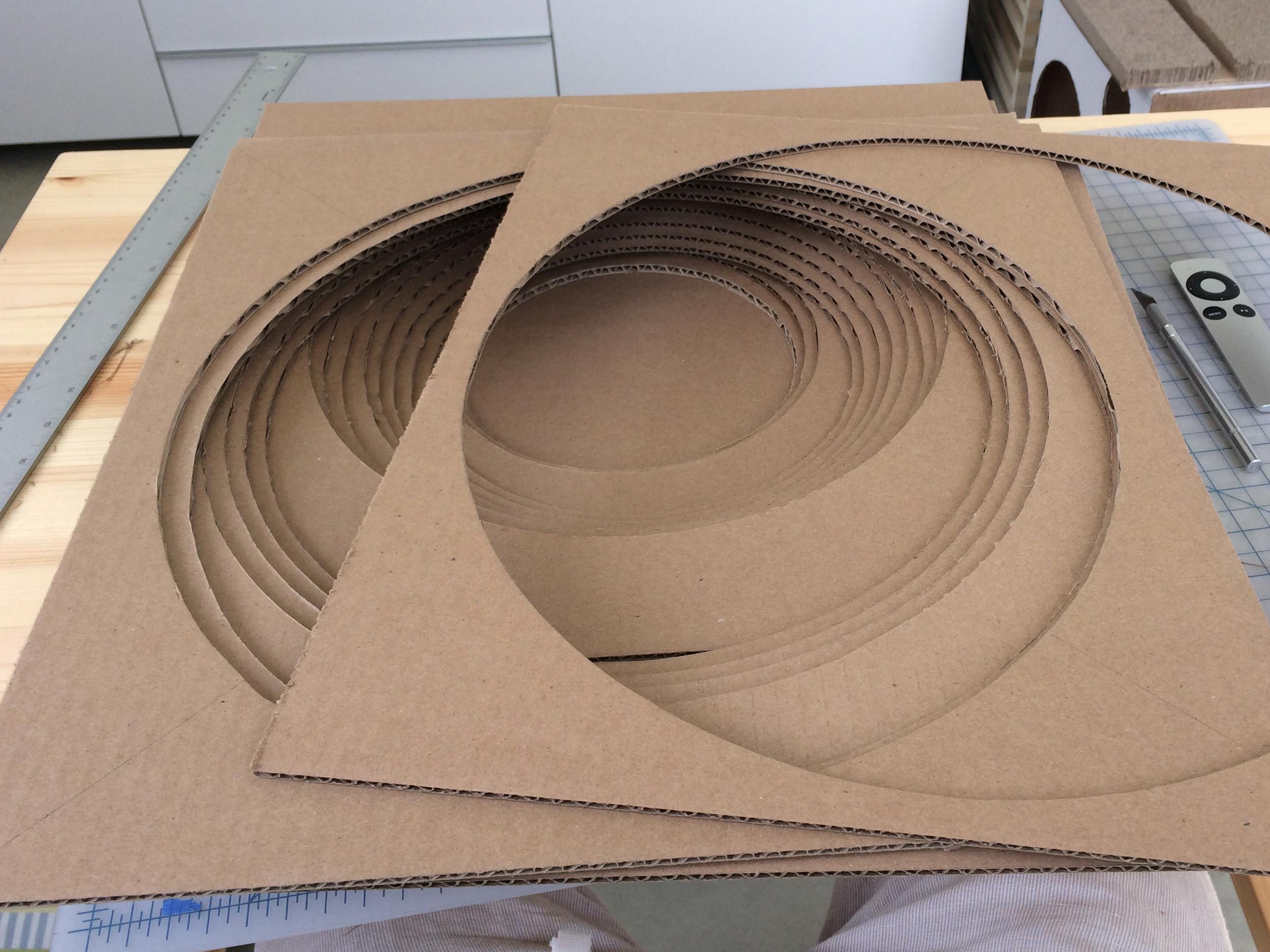 Cardboard Cat Bed