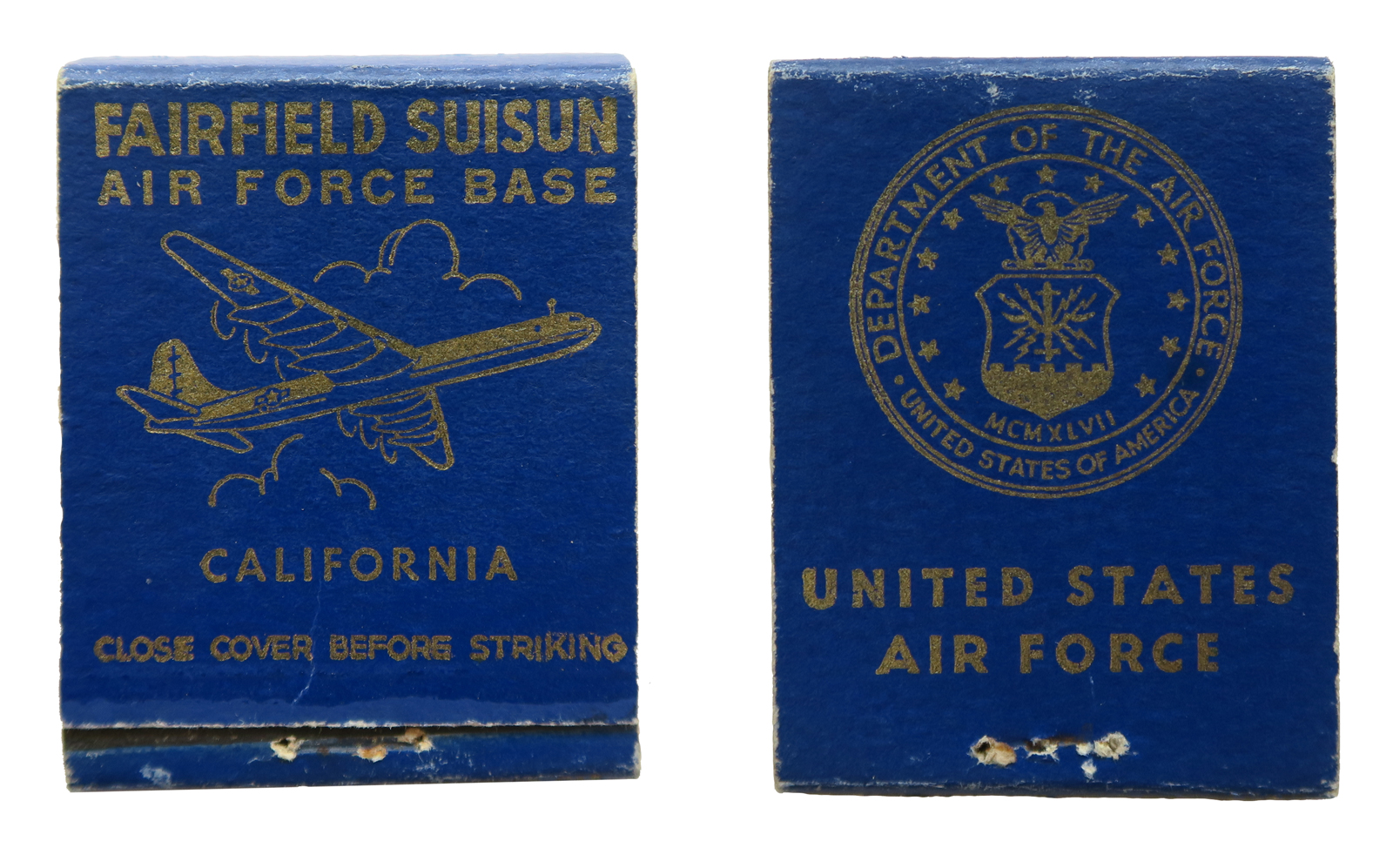 Fairfield Suisun  (Travis Air Force Base, Oct 1950) Air Force Base - B-36