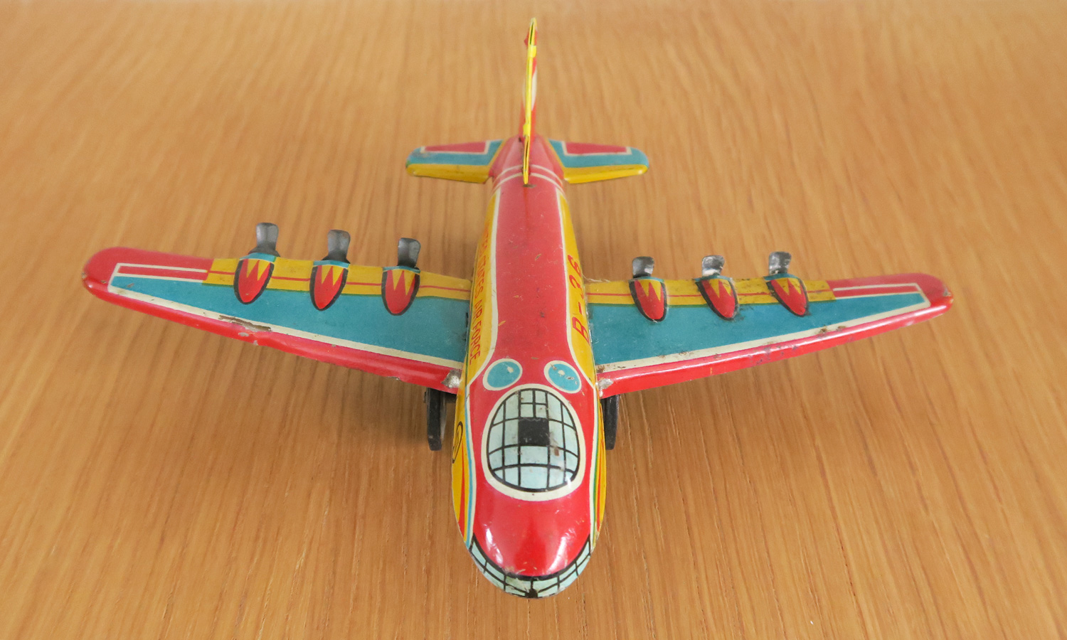 Front - King B-36 Friction Toy