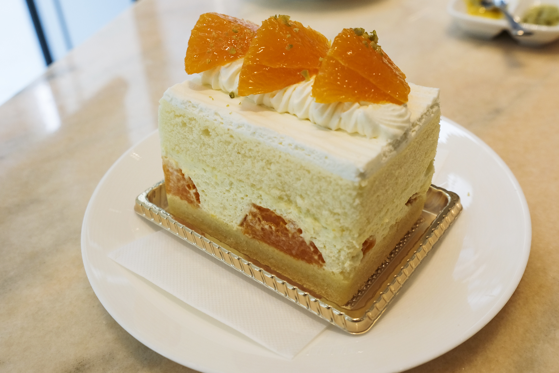 Setoka Orange Short Cake