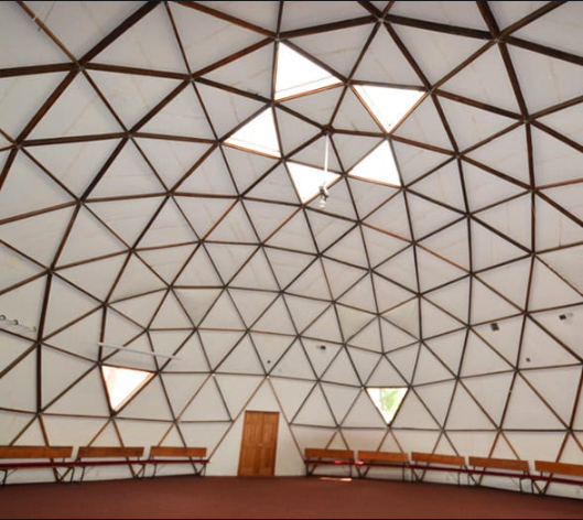 The Synergia Dome, where we will be swinging our swords!