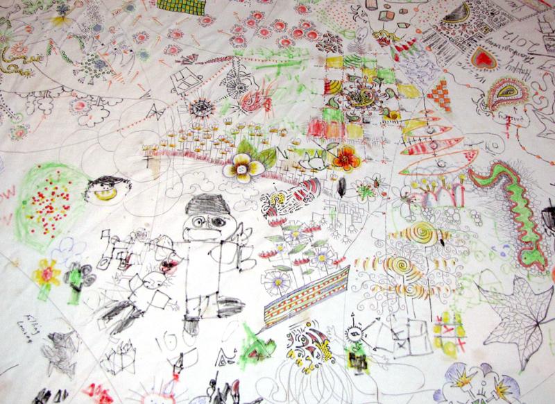 thanksgiving tablecloth, Paula Kovarik