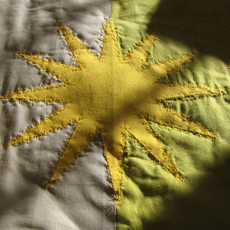 Sunstitched, Paula Kovarik, part of a quilt challenge for my local guild.