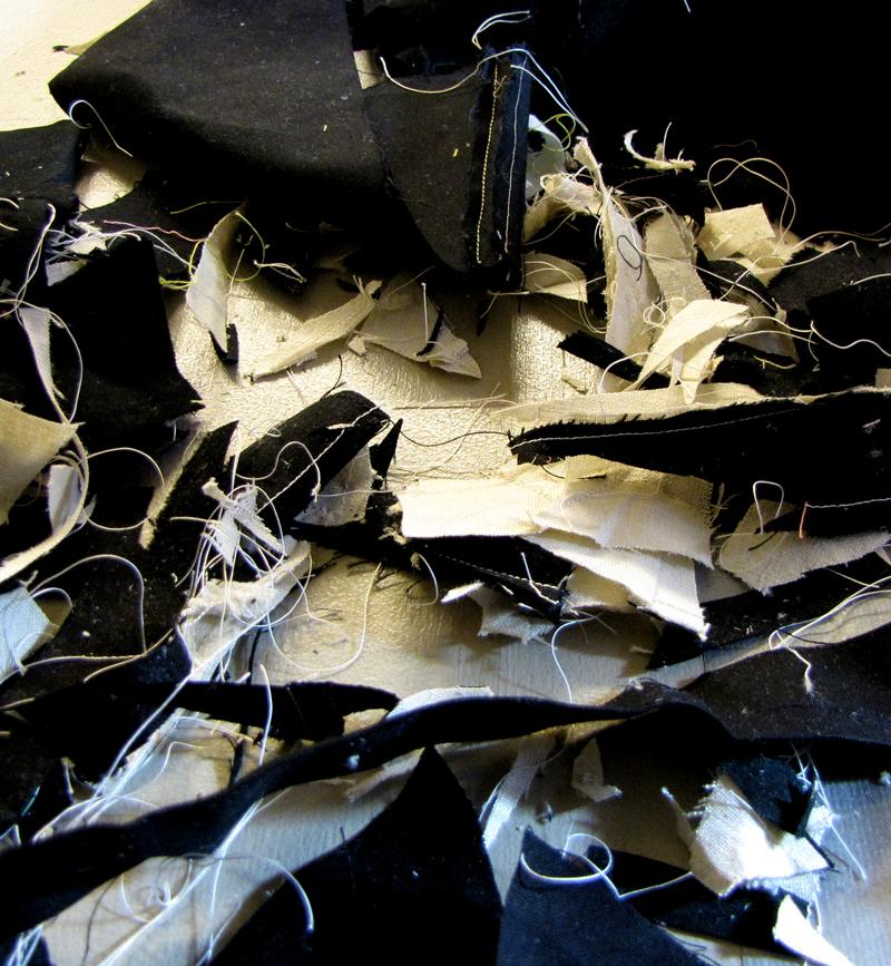 scraps of work, Paula Kovarik
