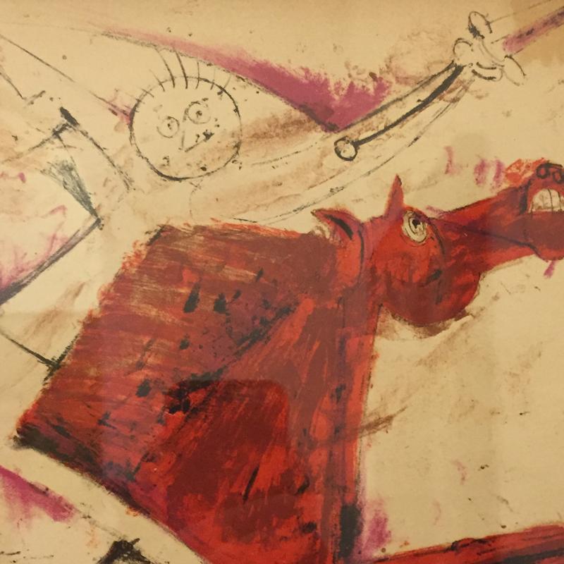 Rufino Tamayo, detail