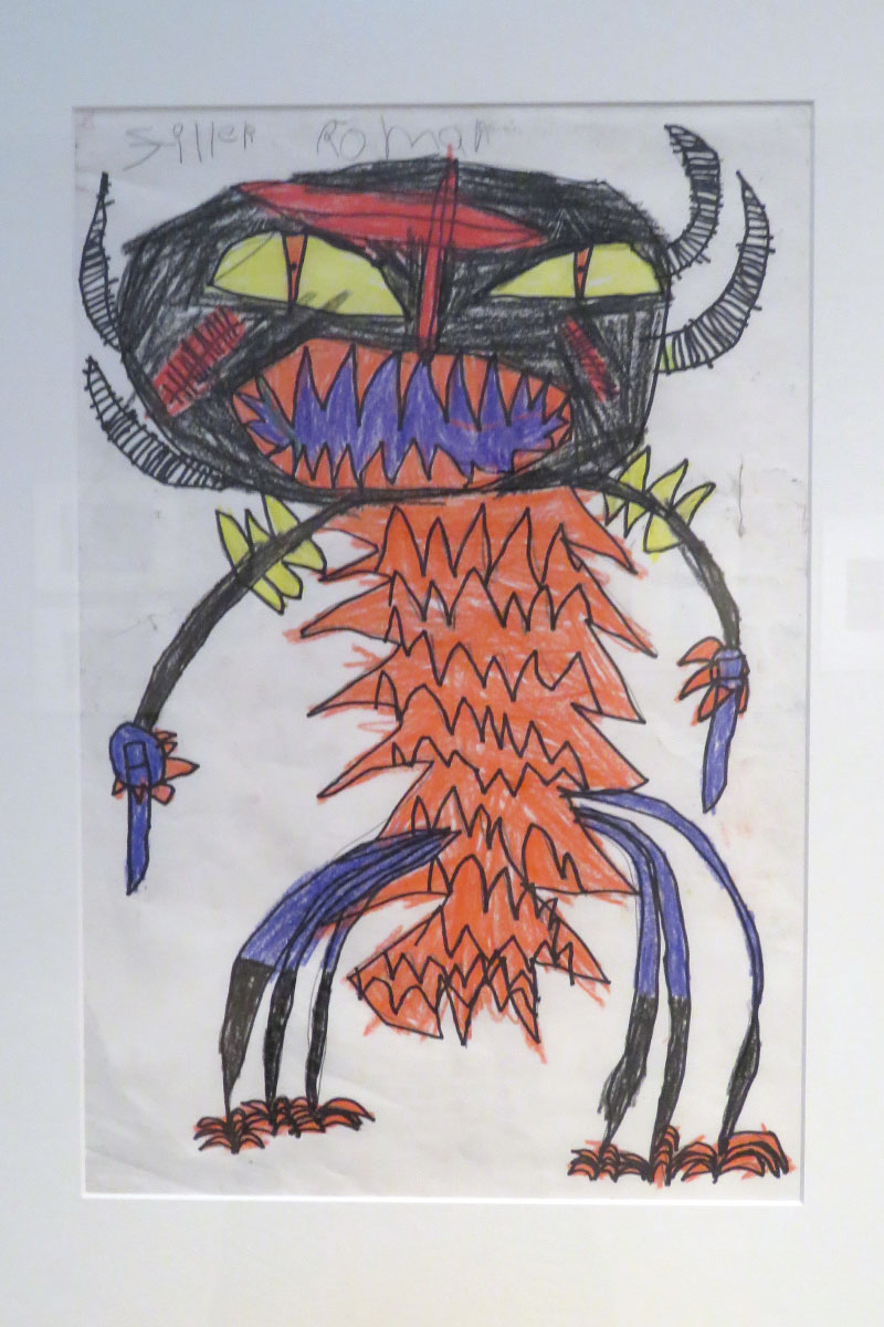 Monster  by Roman Serfaty, first grade
