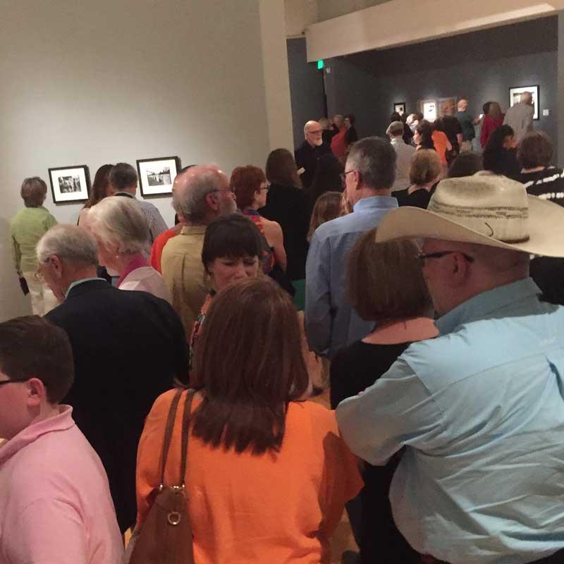 Delta Exhibition crowd