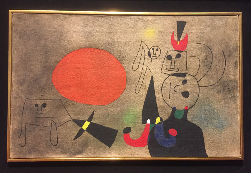 Women at Sunrise , Miro, need I say more?