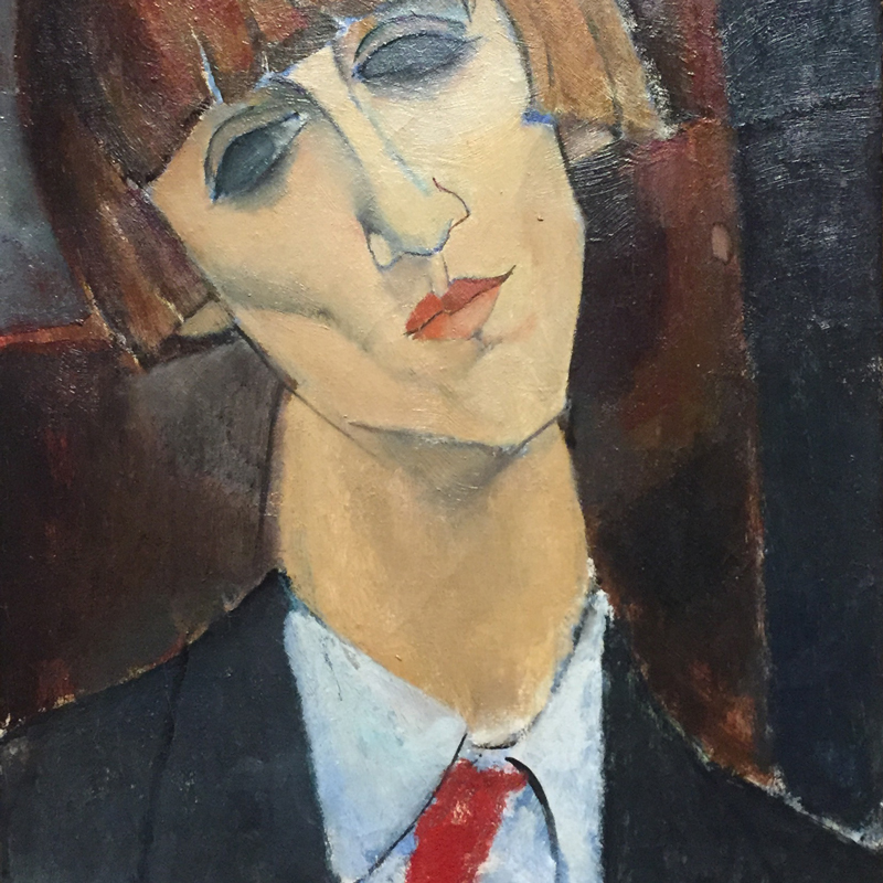 Modigliani, detail