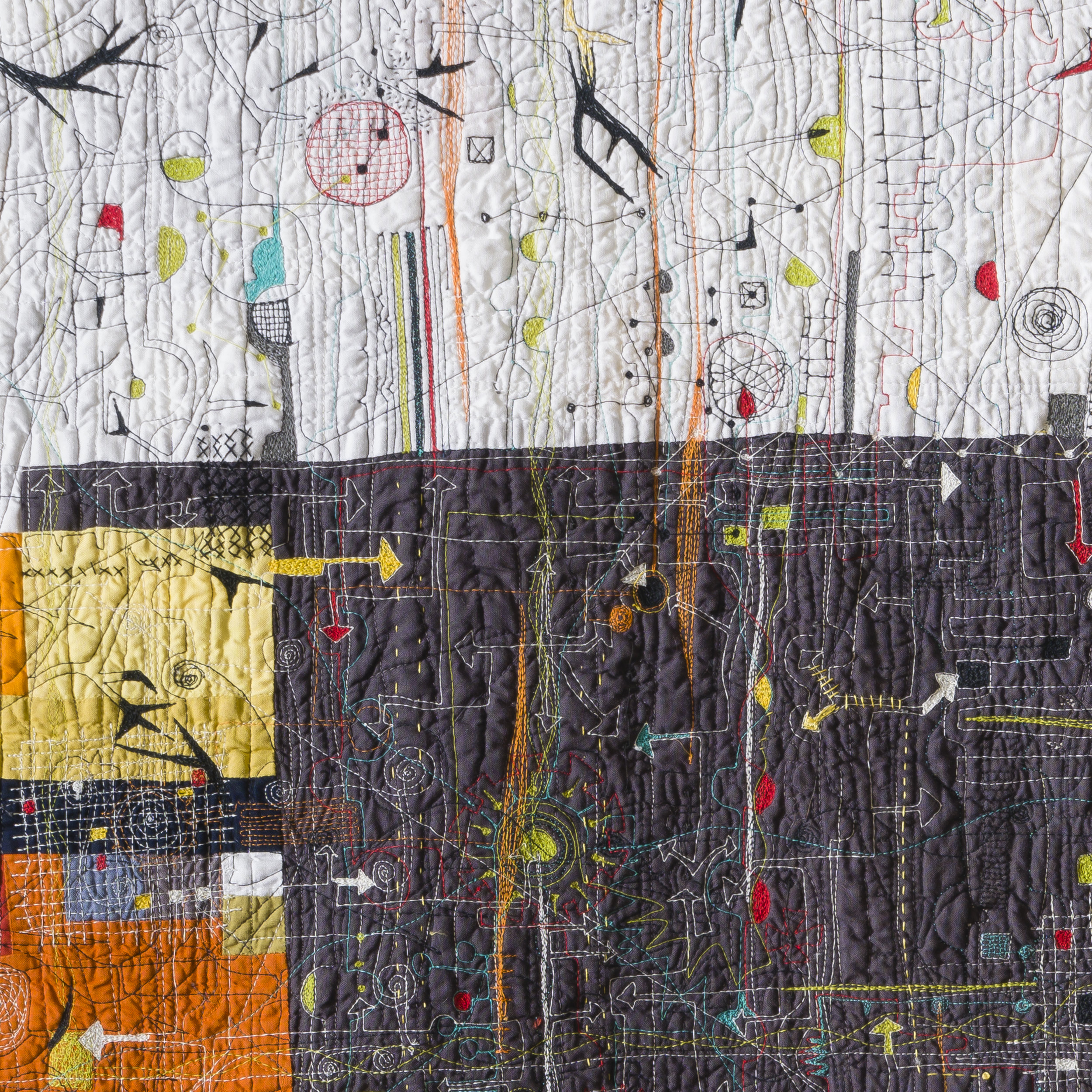 Chaos Ensues , detail, Paula Kovarik