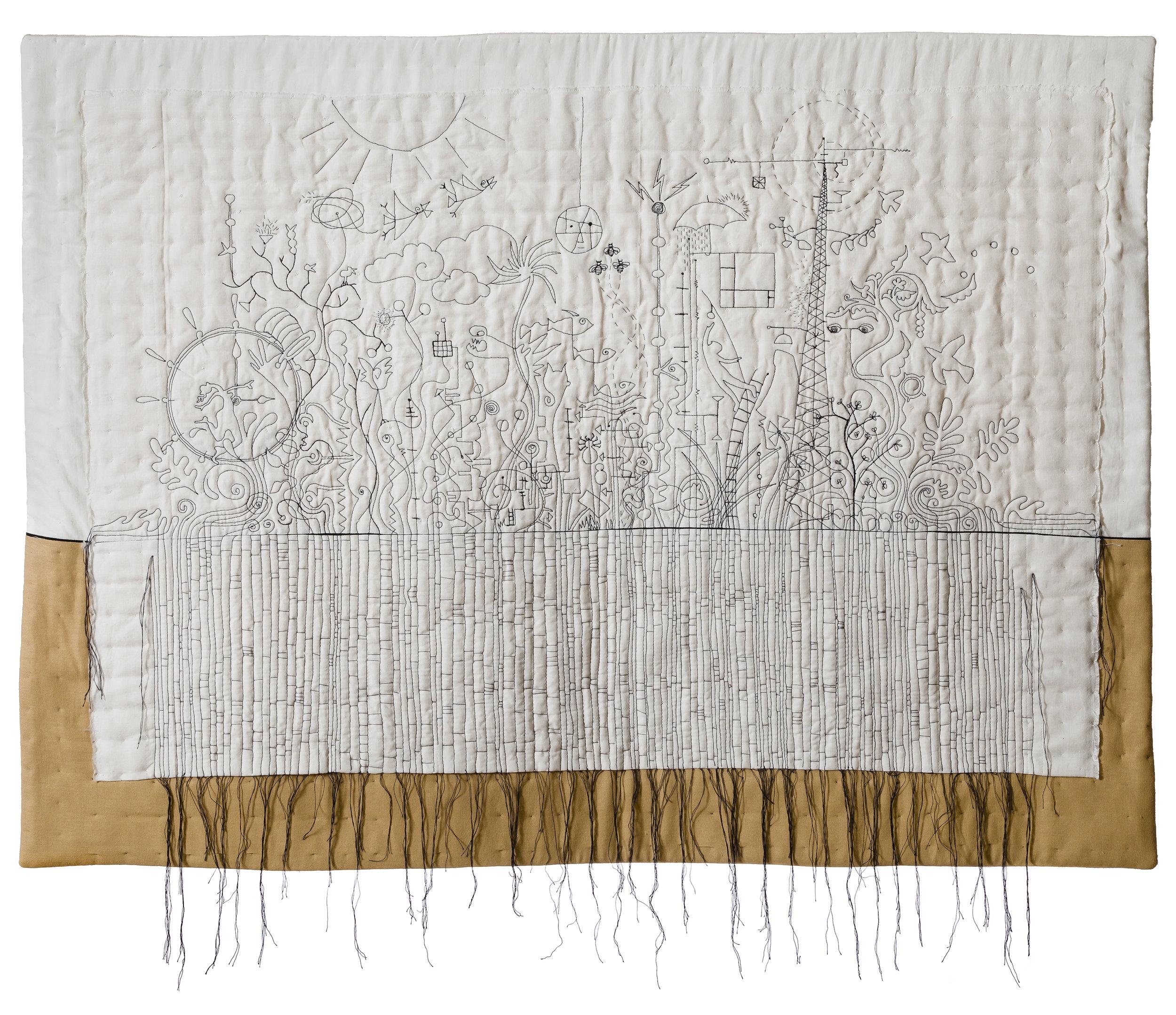 """Catalysts , 27"""" x 36.5"""", Paula Kovarik"""