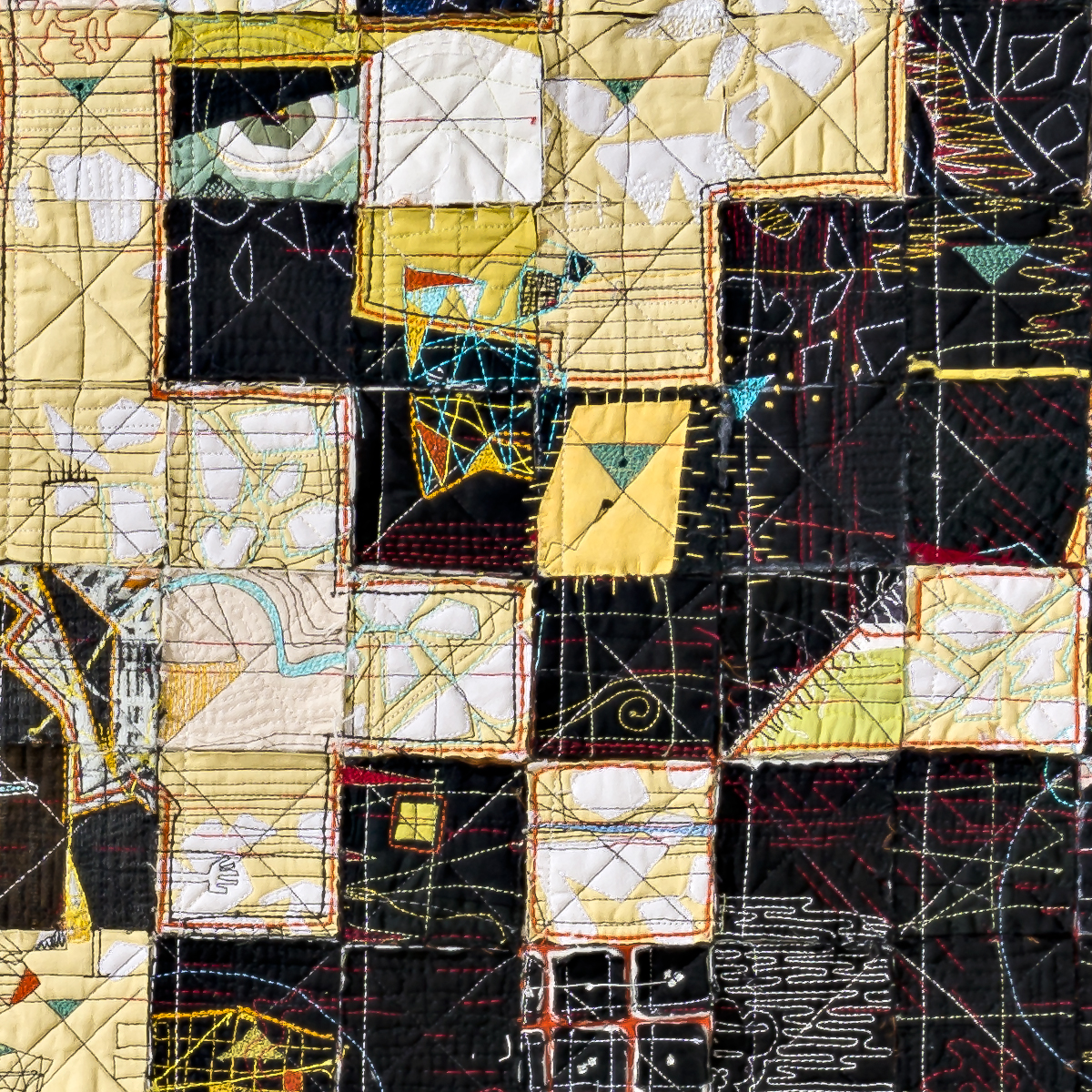 Many Moons, detail, Paula Kovarik