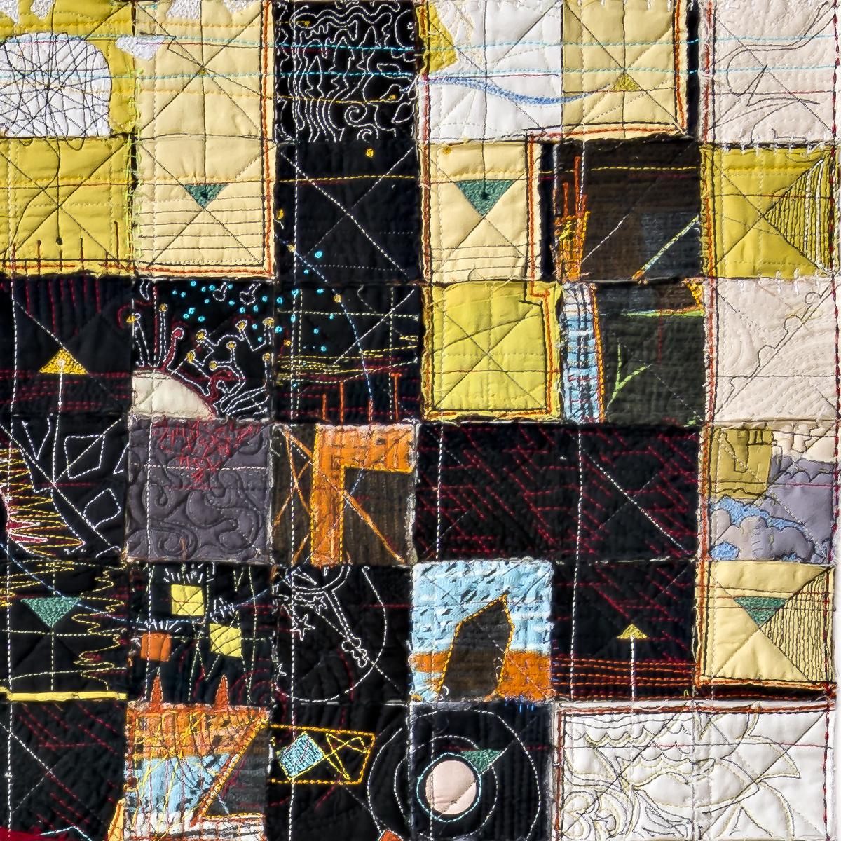 Many Moons, detail 2, Paula Kovarik