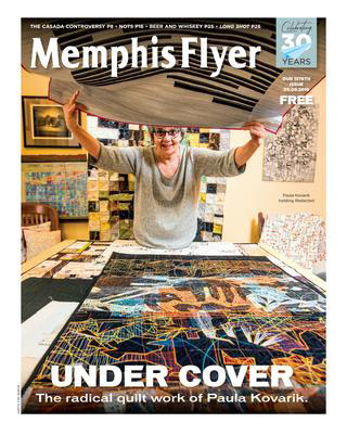 The Memphis Flyer featured me on their cover in April of 2019, the week before the Stitched festival I curated at Crosstown Arts in Memphis, TN.