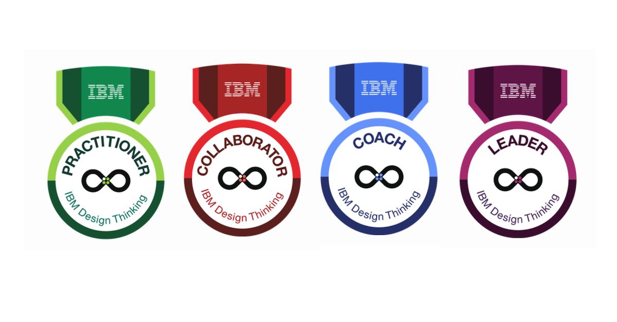 IBM Design Thinking Badges — Karel Vredenburg