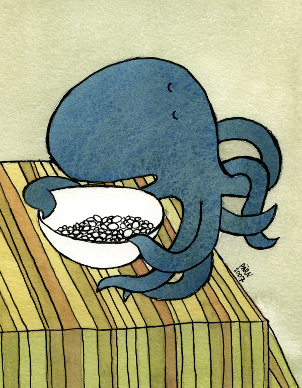 Cuddlefish Loves Candy