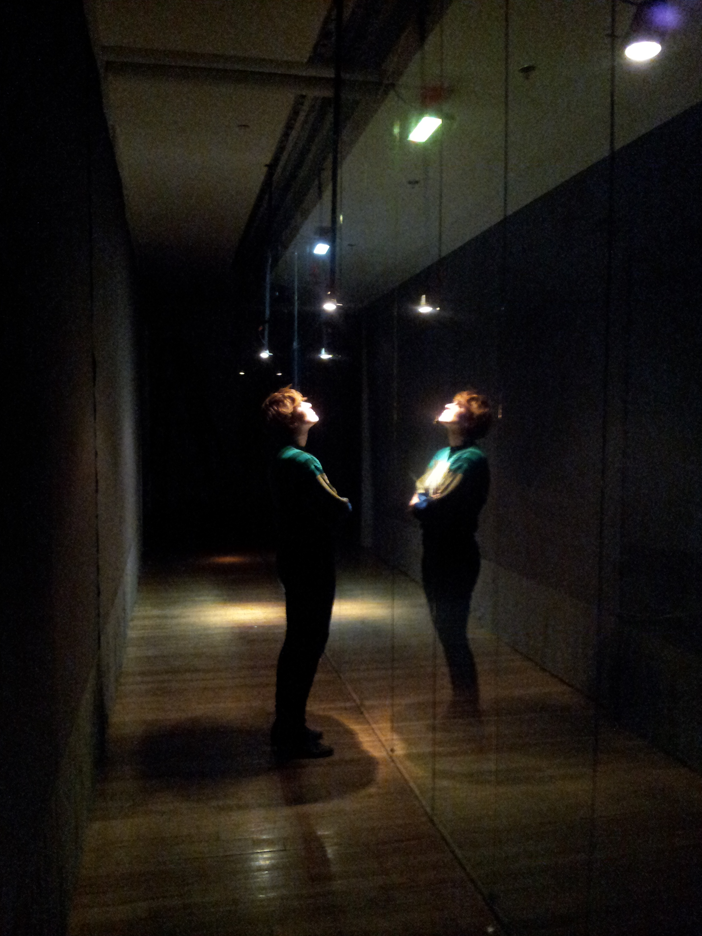 light space art installation