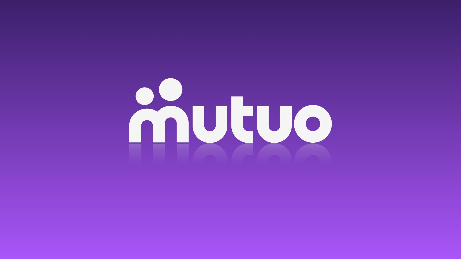 Branding for Mutuality think tank  MUTUO