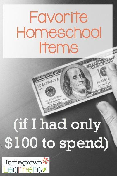 Favorite Homeschool Items