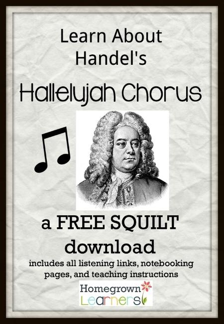 Free SQUILT Music Appreciation Lesson --- Hallelujah Chorus