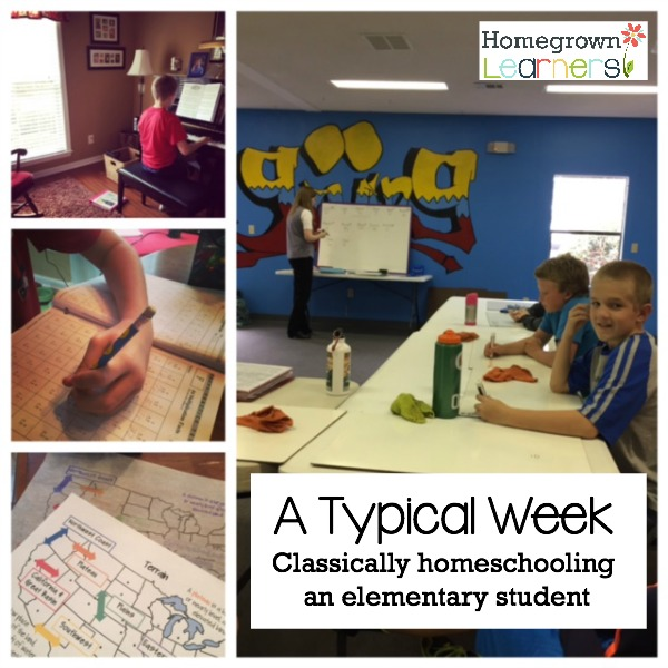 Classically Homeschooling an Elementary Student