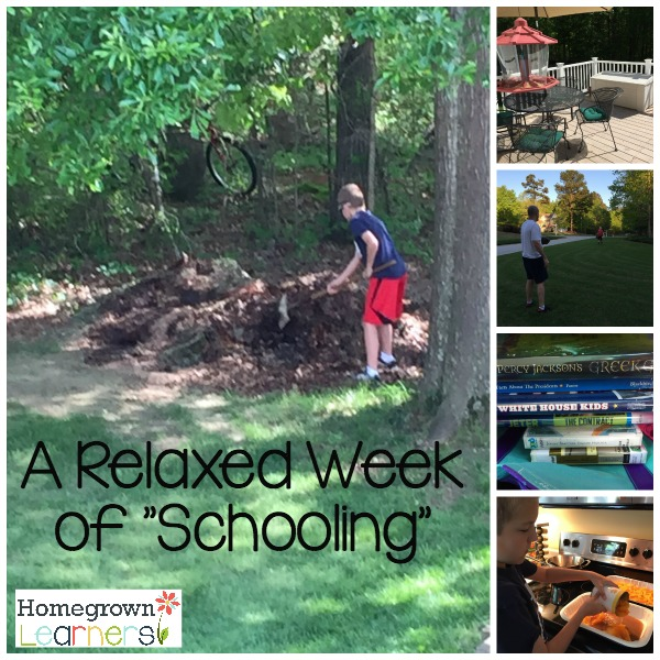 Relaxed Homeschooling After Classical Conversations Ends