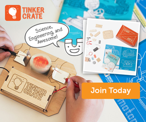 Tinker Crate - a Favorite Resource in our Homeschool