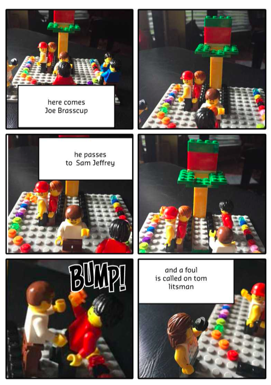 Black Top Basketball with LEGO® Education StoryStarter curriculum