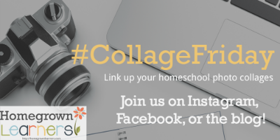 Join Me For Collage Friday, a weekly homeschool link up