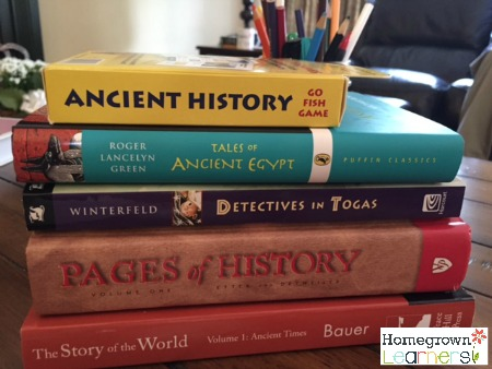 Resources for Studying Ancient History in Your Homeschool
