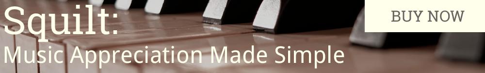 SQUILT Music Appreciation Curriculum is great for summer homeschool studies