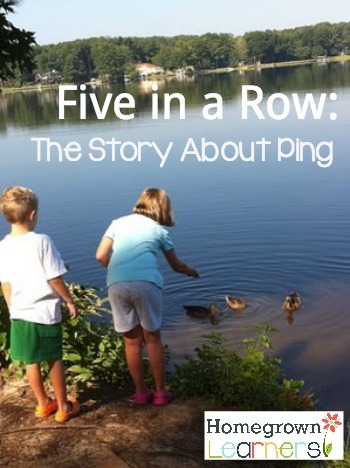 The Gift of Five in a Row: The Story About Ping