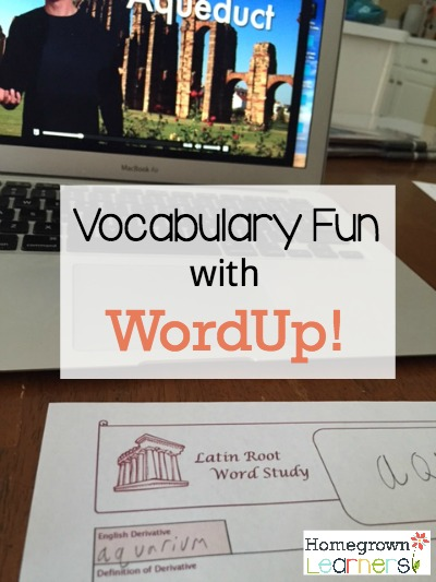 Learn Latin & Greek Roots with WordUp!