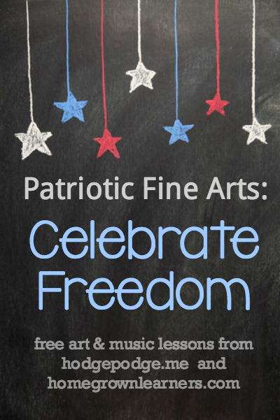 Patriotic Fine Arts - Celebrate Freedom with free music and art lessons