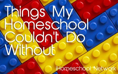 Things My Homeschool Couldn't Do Without - an iHN blog hop