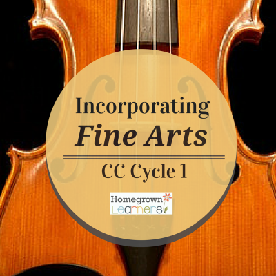 Incorporating Fine Arts in CC Cycle 1
