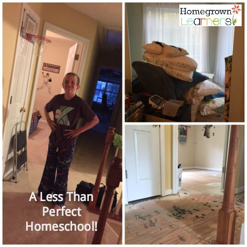 Our Less Than Perfect Homeschool