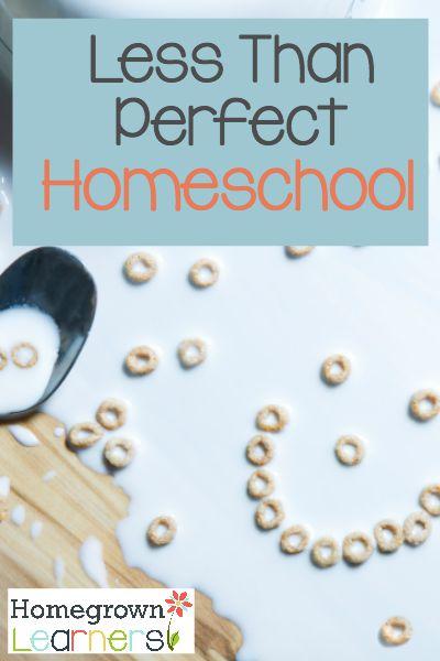 Less Than Perfect Homeschool