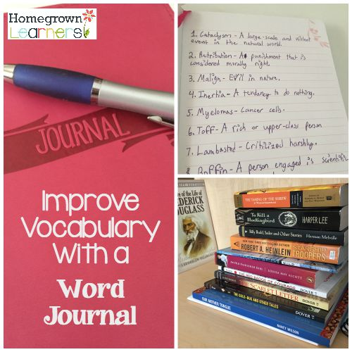 Improve Vocabulary with a Word Journal