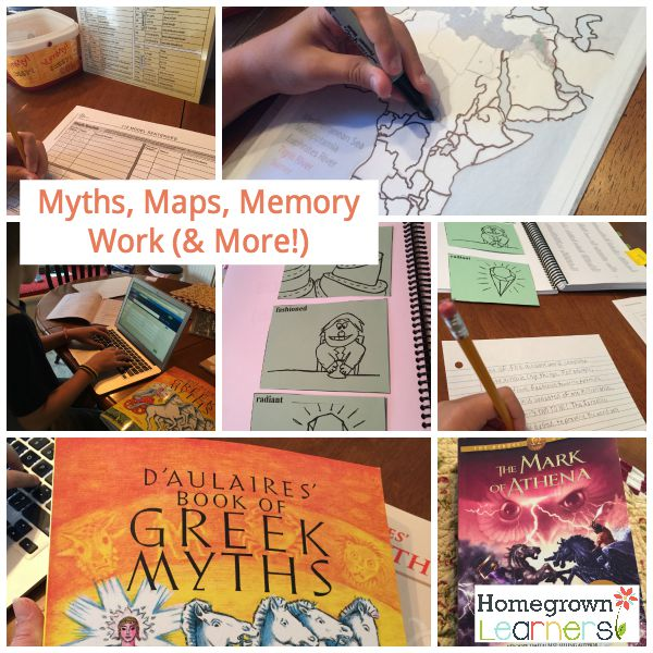 Myths, Maps, Memory Work & More