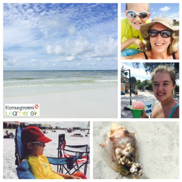 Homeschool on the Road - Collage Friday 1.7