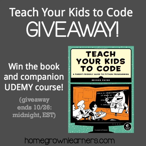 Teach Your Kids to Code Giveaway