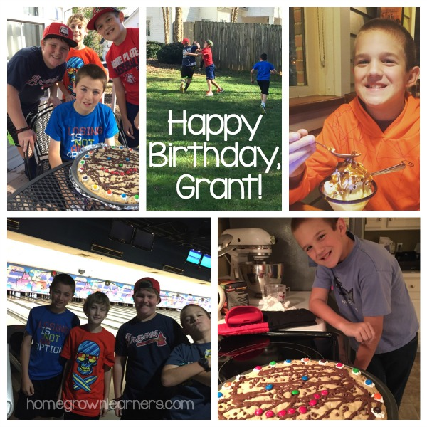 Grant's 11th Birthday Collage