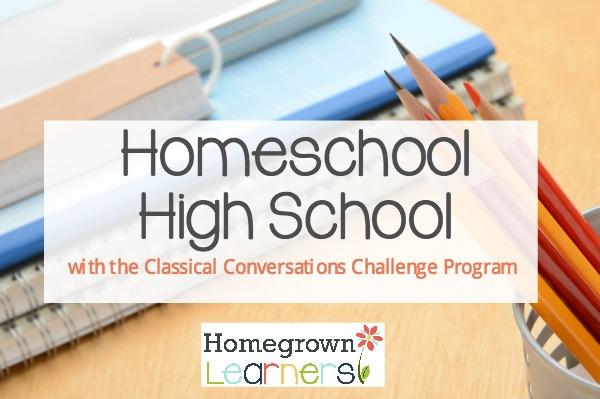 Homeschool High School with the Classical Conversations Challenge Program